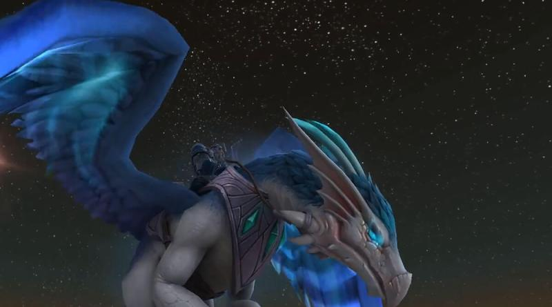 Sylverian Dreamer Mount - WoW BFA Rise of Azshara