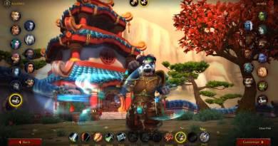WoW Shadowlands Beta Class Animations - Pandaren Female