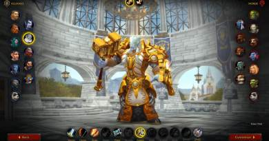 WoW Shadowlands Beta Class Animations - Lightforged Draenei Male