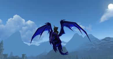 Uncorrupted Voidwing mount