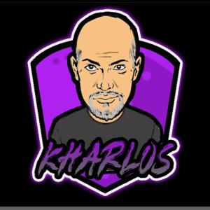 Kharlos Gaming Logo XXL Mousepad (Black)