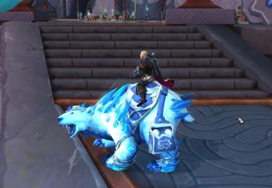 Unboxing Snowstorm - WoW Bear Mount
