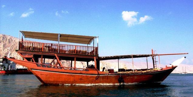 Khasab Sea Tours Boat