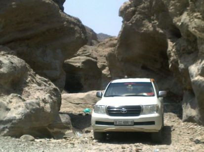 Musandam Mountain safari
