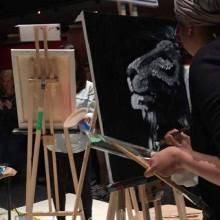 Aslan for Art Battle