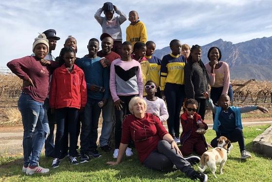 Team KL at Winelands - next stop Capetown!