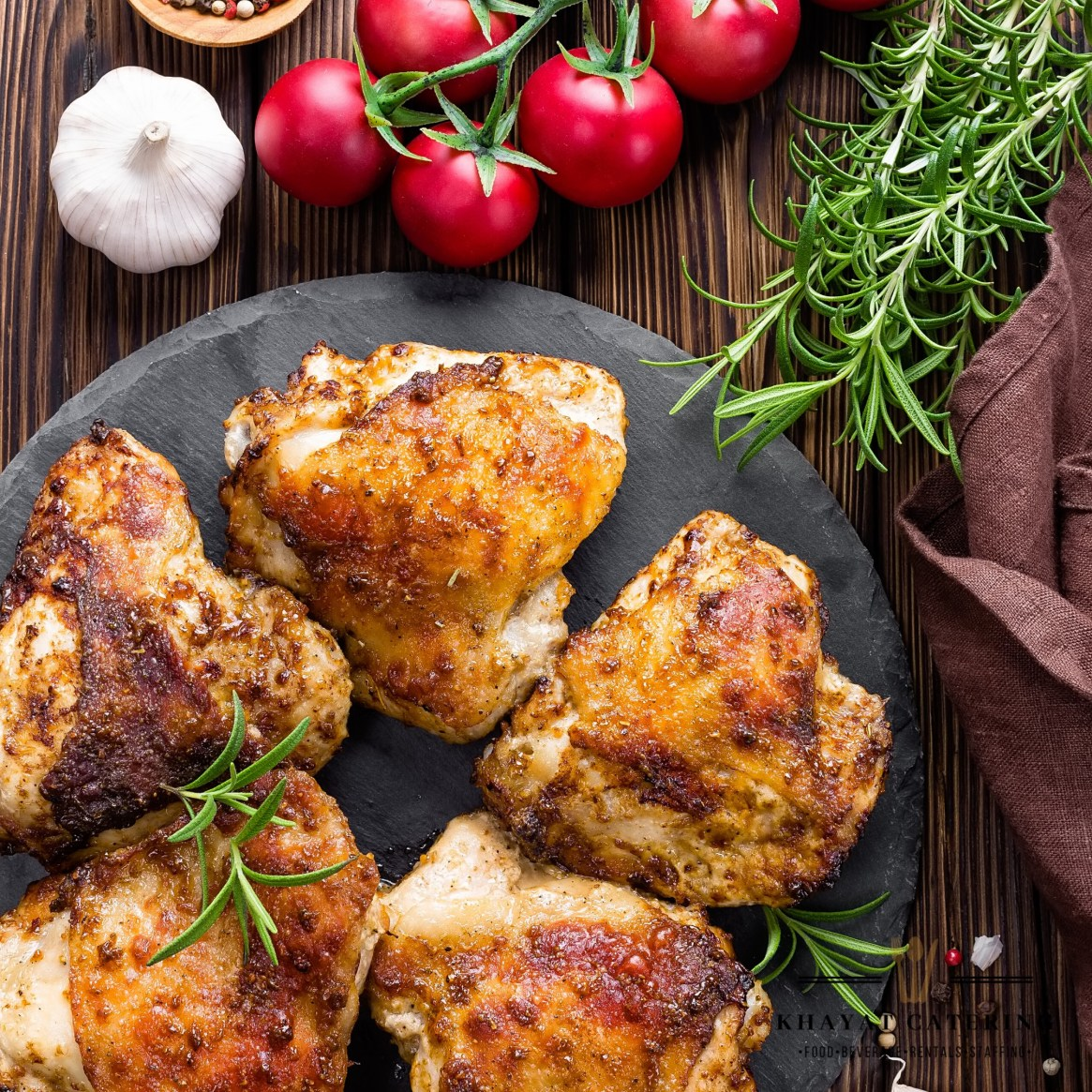 Khayat Catering baked chicken