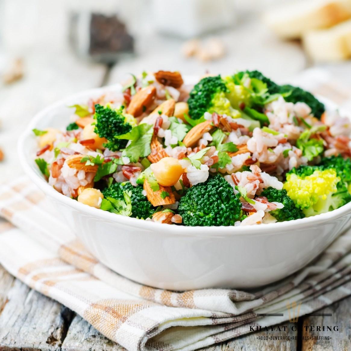 Khayat Catering broccoli salad