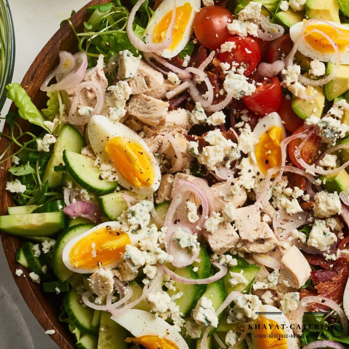 Khayat Catering california Cobb salad