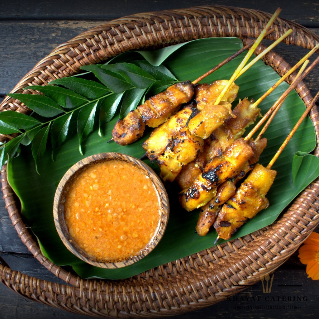 Khayat Catering chicken satay
