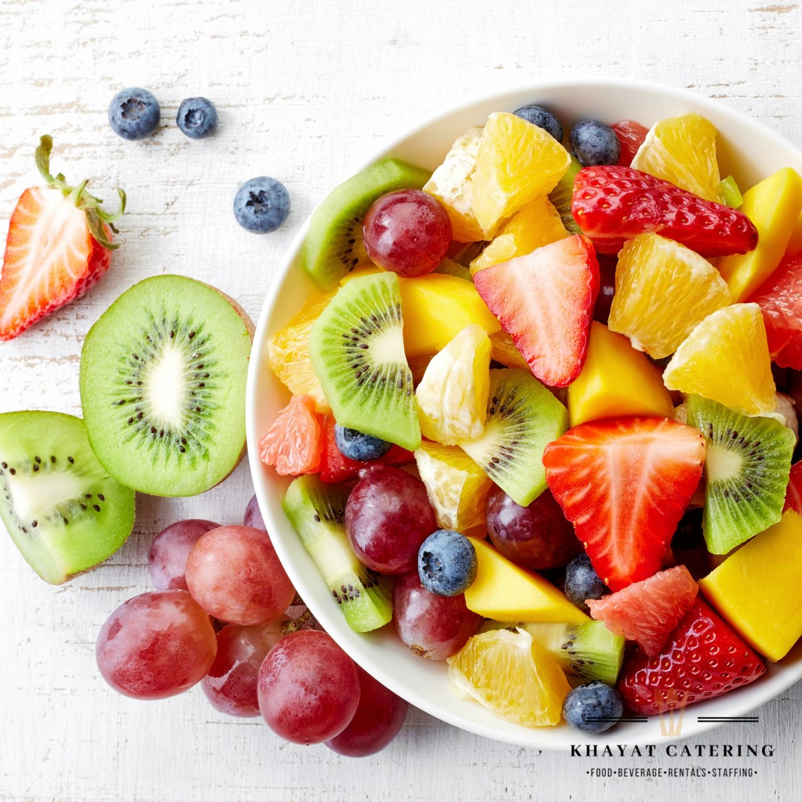 Khayat Catering fruit salad