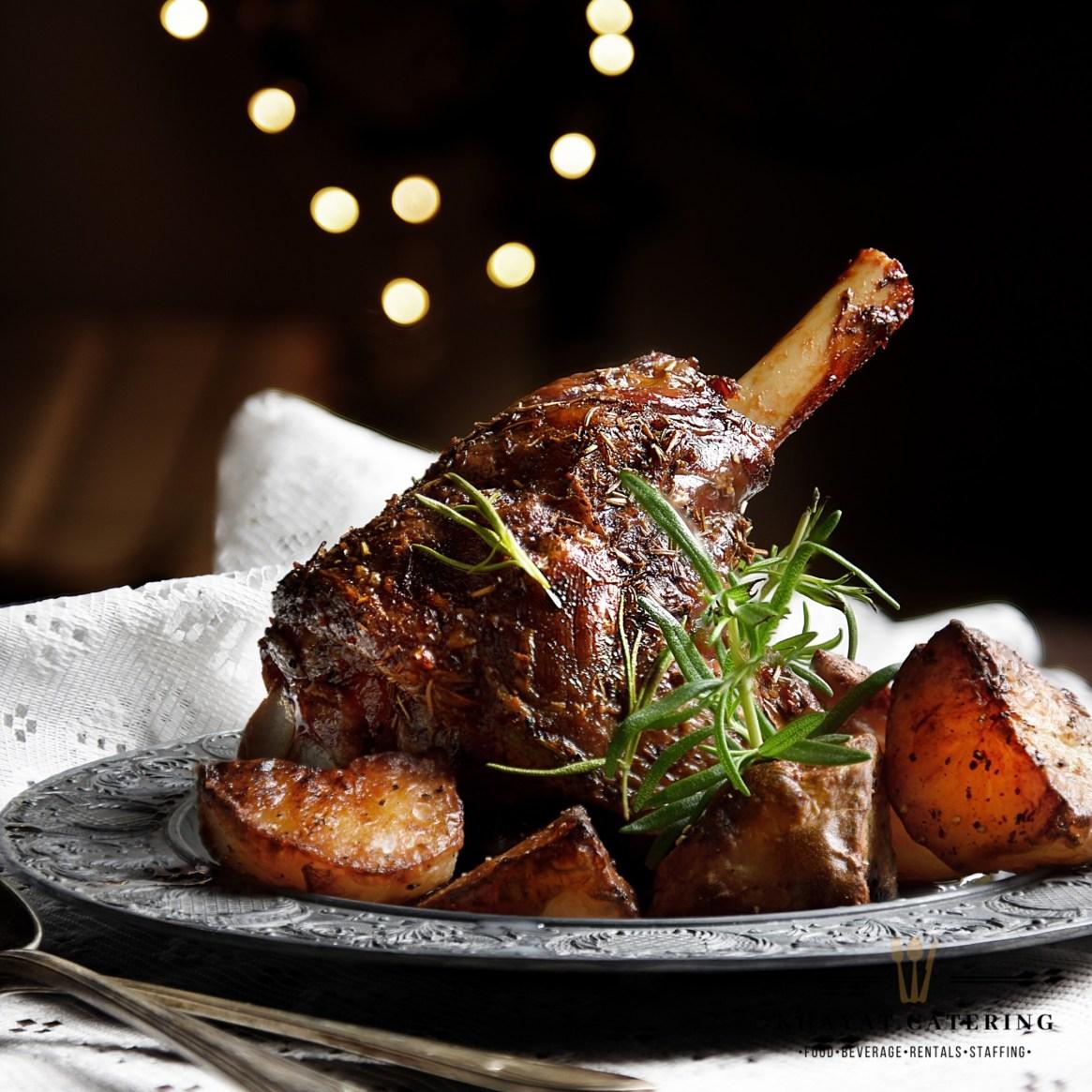 Khayat Catering lamb shank