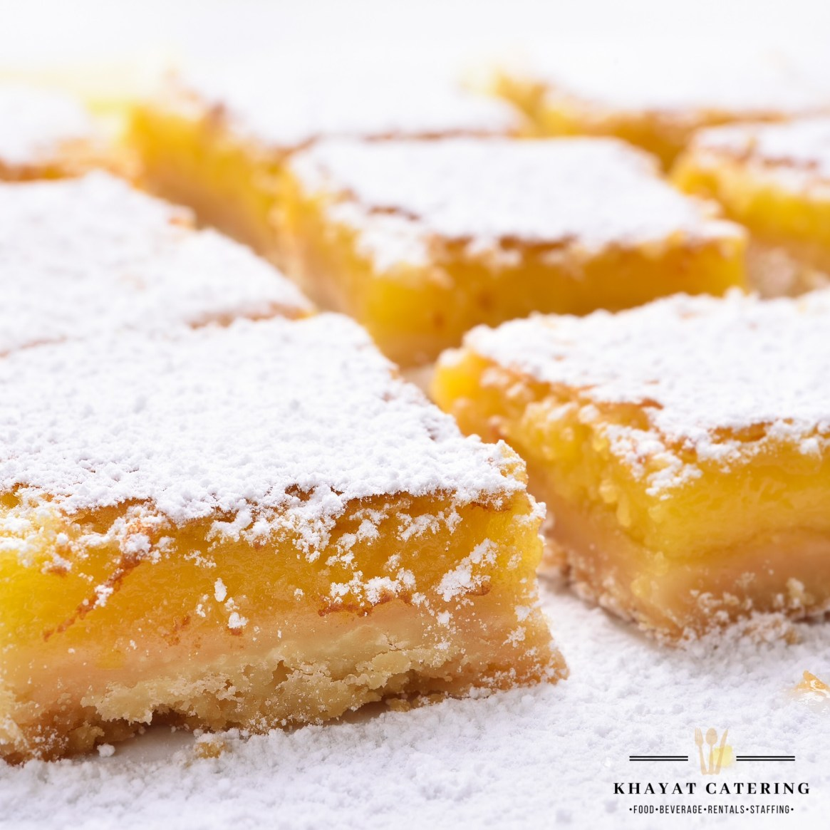 Khayat Catering lemon bars