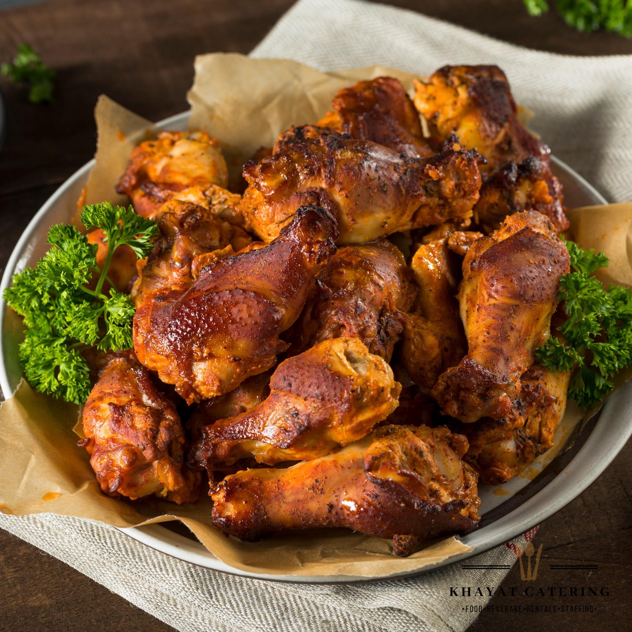 Khayat Catering smoked chicken