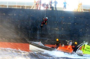 GREENPEACE COAL SHIP BOARDING