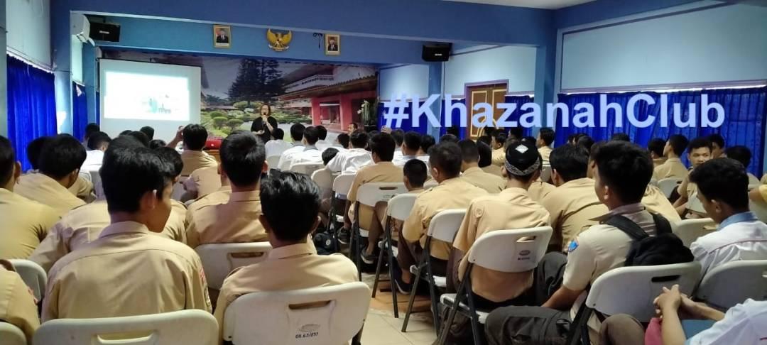 Acara Rekrutmen Dgn Anak SMK Jurusan TKR Di Jakarta Utara