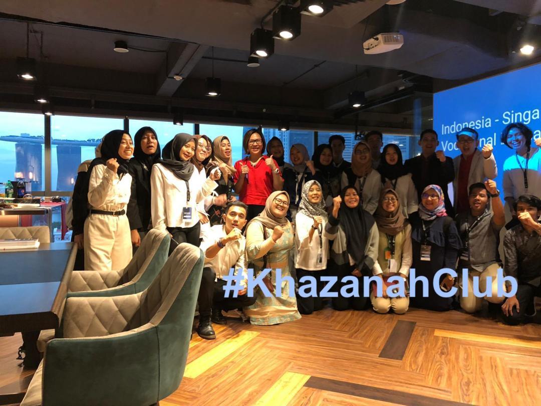Acara Bersosialisasi Khazanah Internasional Dgn Universitas Indonesia Di Kantor Singapore