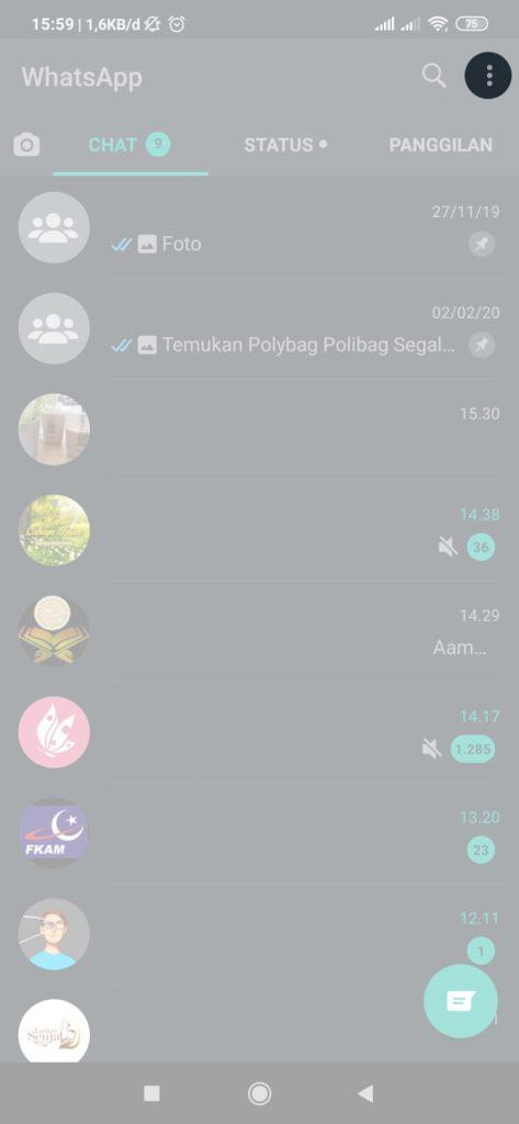 cara memindahkan chat whatsapp dari