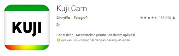 Kuji Cam aplikasi kamera bikin foto jadi retro