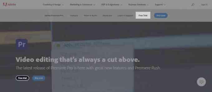 cara download adobe premiere pro di laptop