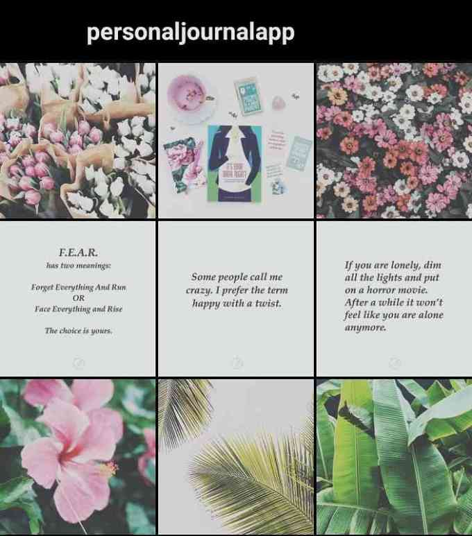 ide feed instagram baris