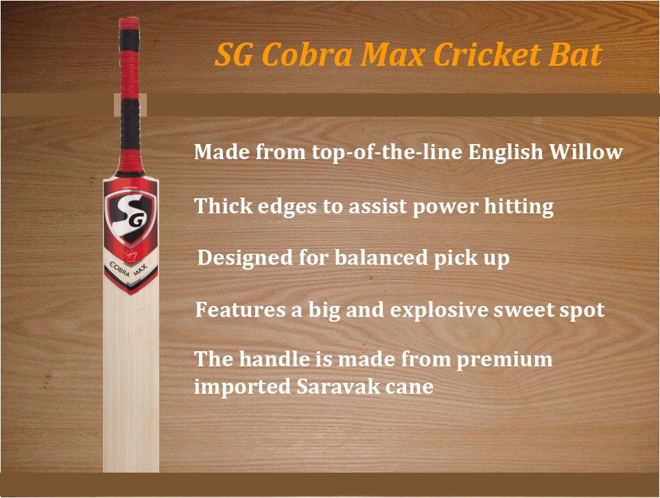 SG Cobra Max Cricket Bat