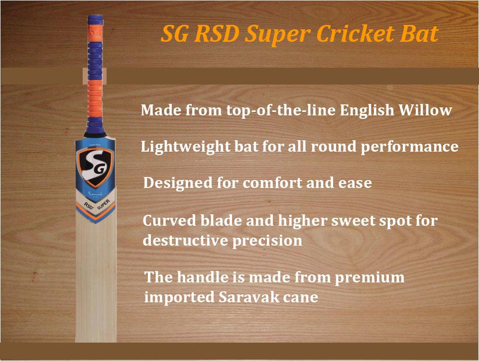 SG RSD Super Cricket Bat