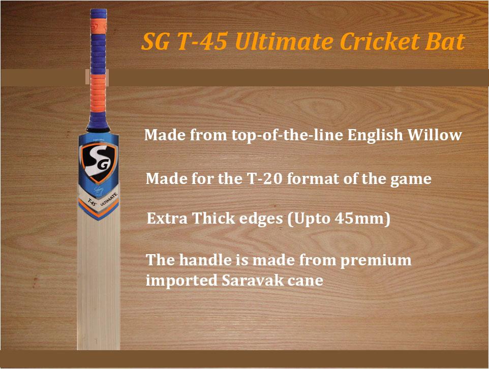 SG T45 Ultimate Cricket Bat