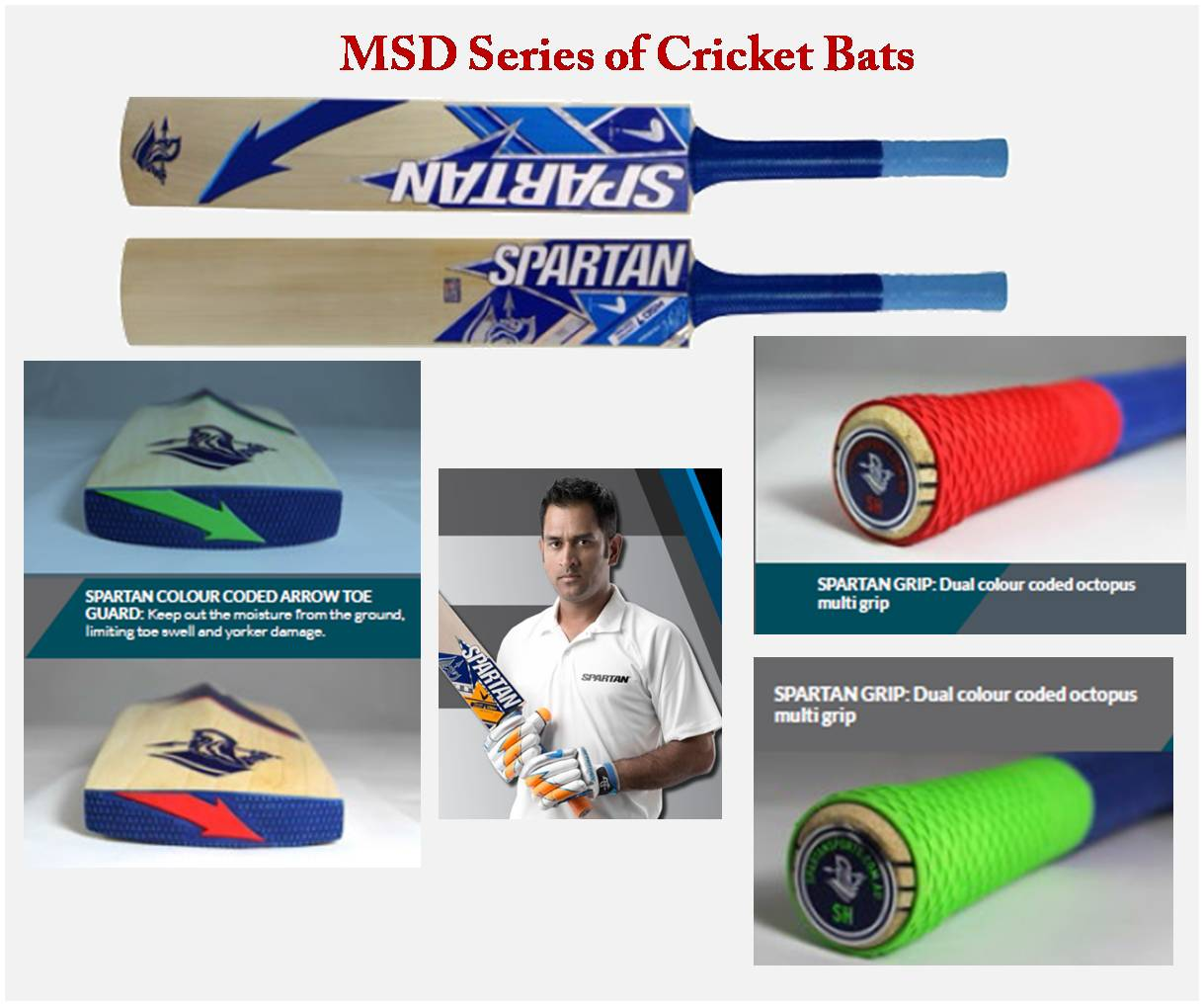 Spartan Cricket Bats Key Features