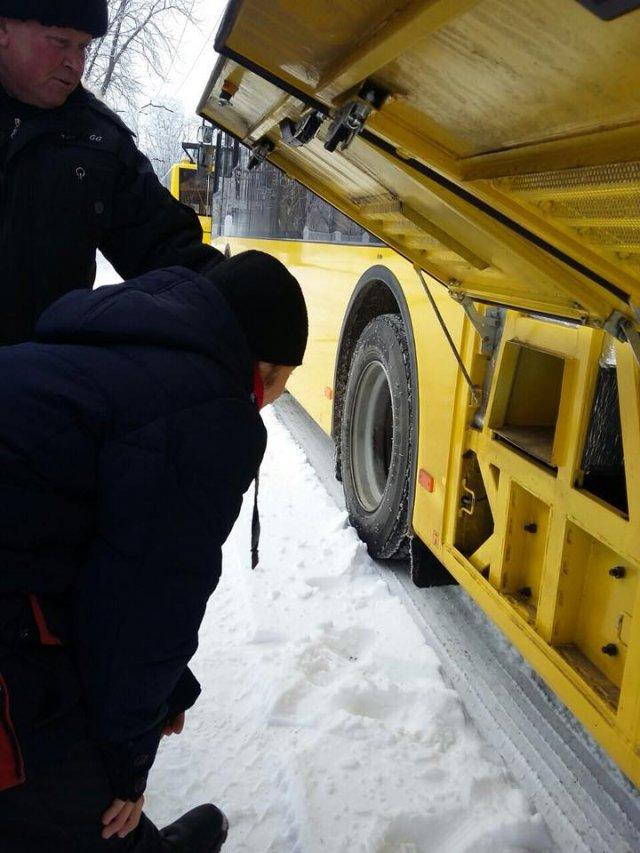 Херсонские студенты отметили День студента в... троллейбусном депо
