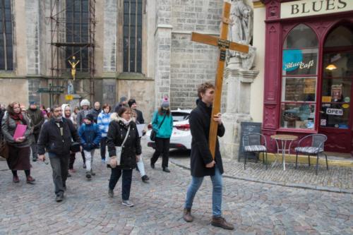 Křížová cesta městem