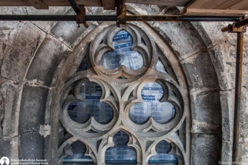 Obnova kostela sv. Jakuba - restaurování kamene