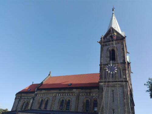 Obnova věžních hodin na Gruntě