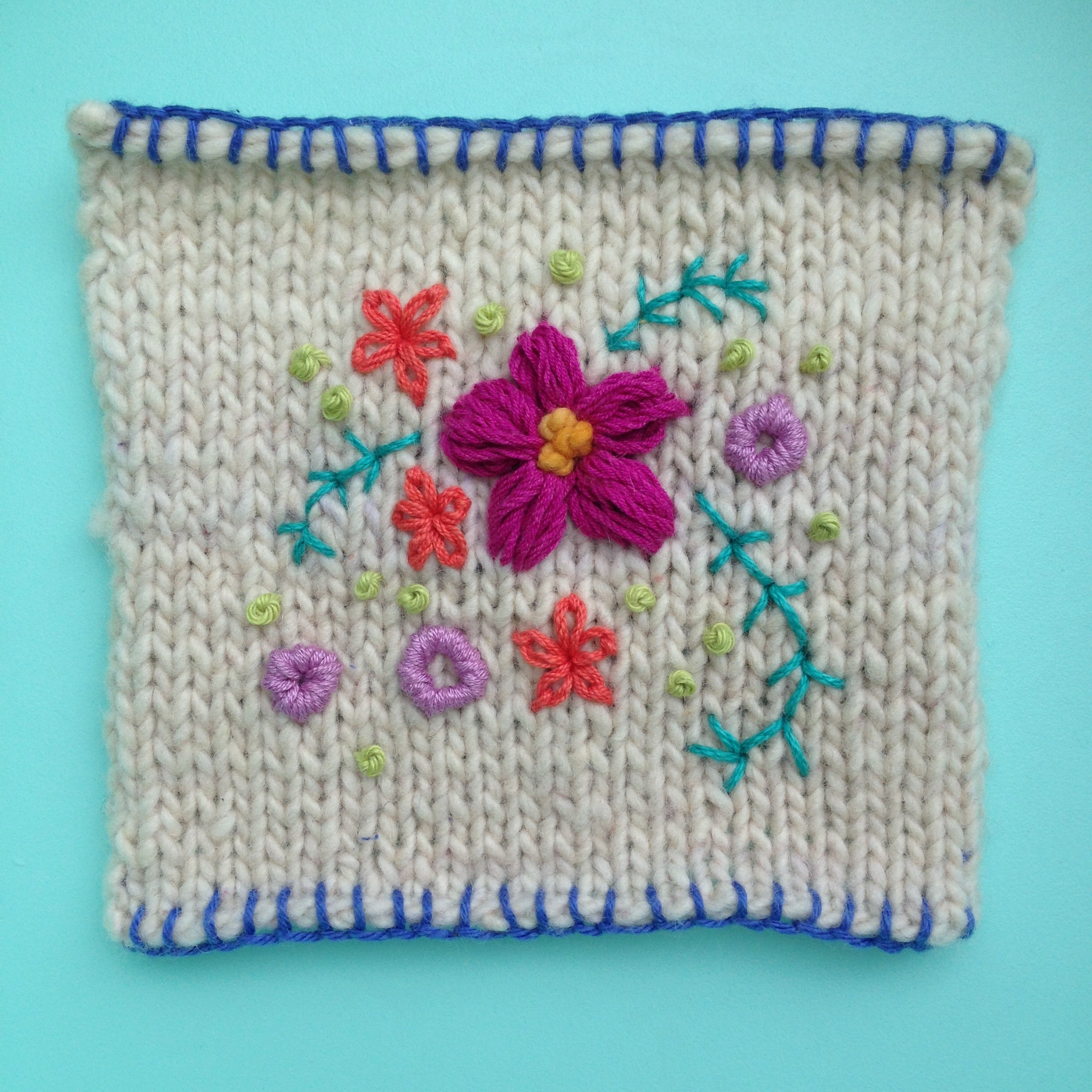 Embroidery for Knits and Crochet