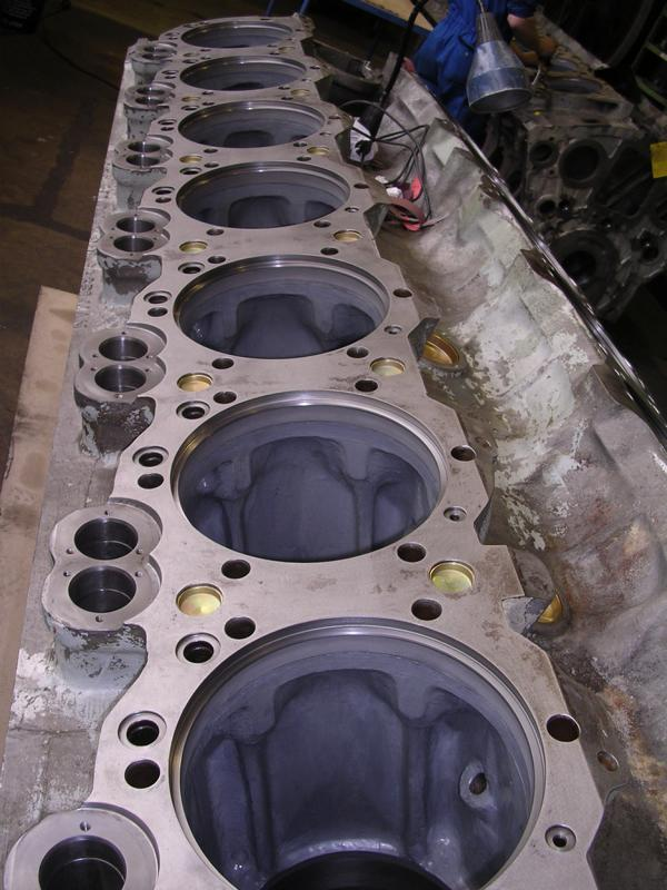 Belzona Repairs And Protects Engine Block And Cylinder Liners