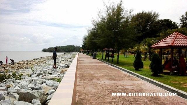 Bandar Pontian Johor, tepi laut Pontian