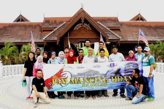 Terowong Sejarah Pasir Salak, Tourism Malaysia Perak, Jom Mancing Udang 2014, Emas Putih, Eshamz Halim, Khir Khalid