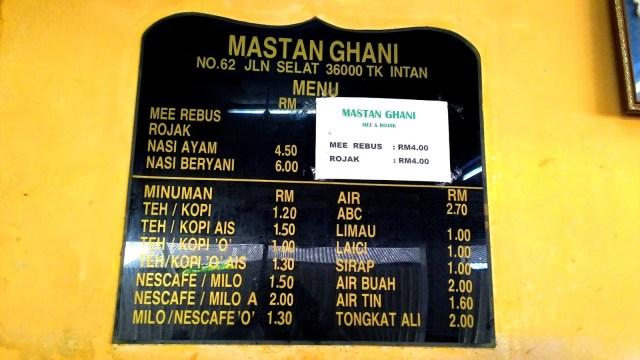 Mee Rebus Mastan Ghani