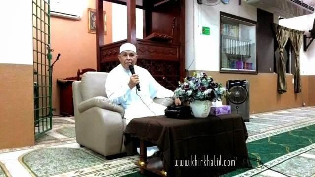 Ustaz Dato Dr Abu Hassan Din Al Hafiz, Madrasah As Siddiqin, Bandar Tasik Puteri