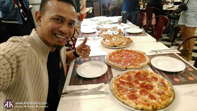 Motorino pizza, sky avenue, resorts world genting,