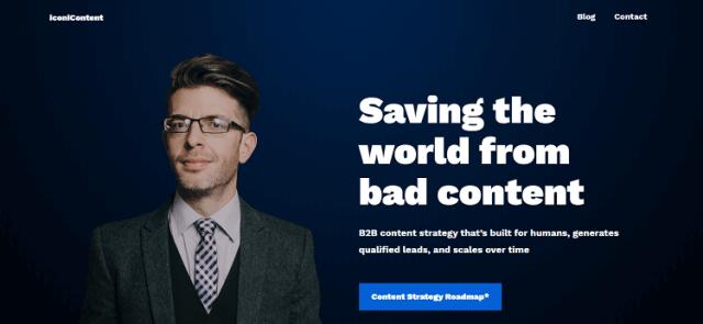 Website penulis digital antarabangsa yang saya subscribe