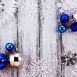 Blue Holiday Decor Khk Designs