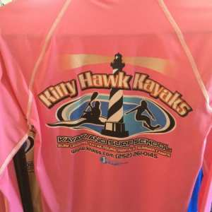 Outer Banks Girls Rash Guards