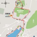 2021高雄富邦馬拉松10公里組路線圖