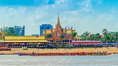 Photo of Cambodian Water Festival