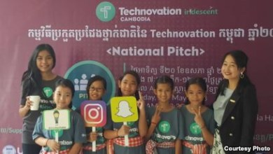 Photo of Cambodian Girls Aim to Bridge Parent-Child Communication Gap With Innovative App