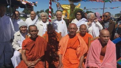 Photo of Choul Chnam Thmey or 'enter the new year' Cambodian style in Stockton
