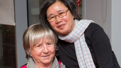 Photo of Brit nurse reunited with woman she saved aged 14 from Pol Pot's Killing Fields