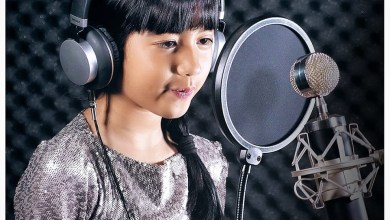 Photo of Jenna Norodom 7 Years Old Khmer Singing I Will Always Love You by Whitney Houston