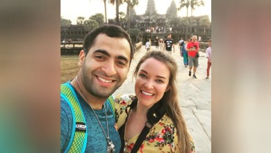Photo of Northern Ohio couple in Cambodia as one case of coronavirus reported